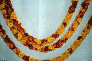 marigold leis