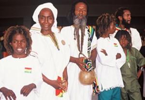 Rasta family Benin Africa