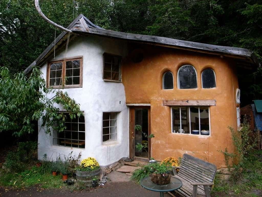 Саманные дома фото