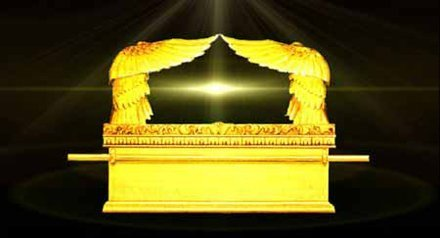 The Arc of the Covenant made white powder gold for King Solomon