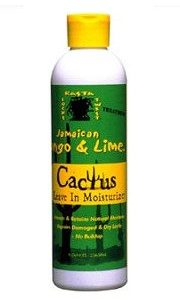 Jamaican Mango and Lime Cactus Leave-In Moisturizer, 8 Ounce Rasta Seed