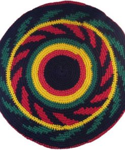 Super size cotton rasta dreadlock tam