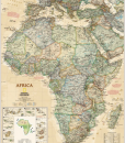 African Map Poster