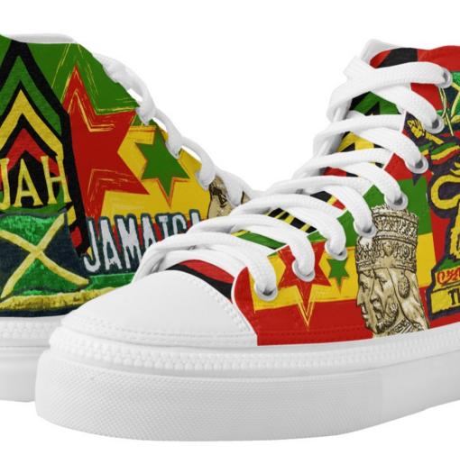 Reggae Rasta Shoes Rasta Seed