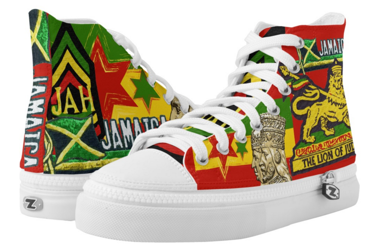 Reggae Rasta Shoes Rasta Seed