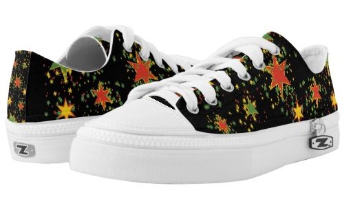 rasta star shower lace up sneakers low top at rastaseed and rasta gear shop