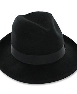 Belfry Bogart - Men's 100% Wool Dress Fedora In 4 Sizes and 2 Colors