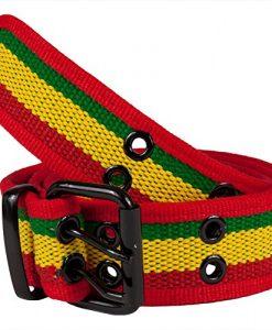Rasta Web Double Grommet Belt