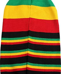 Bob Marley - Unisex-Adult Rasta Strip Tam Beanie