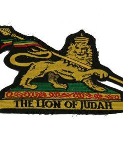 Assorted Rasta Patch-Lion Judah2
