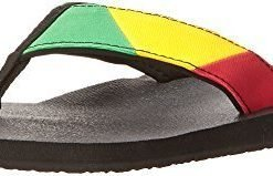 Sanuk Men's Block Party Flip-Flop