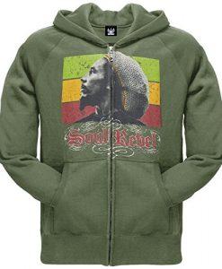 Bob Marley - Rebel Zip Hoodie