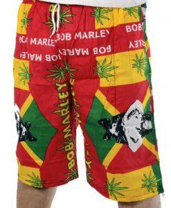 rasta4real LION OF JUDAH Jamaica RASTA BOARD SHORTS (R4R13BS002)