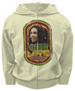 Bob Marley - One Love Toddler Zip Hoodie