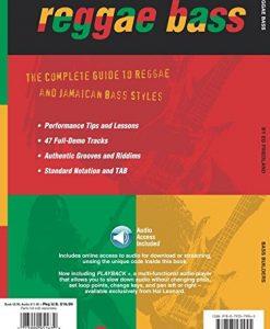 Reggae Bass (Bass Builders) Bk/online audio