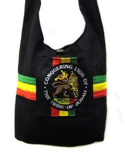 Rasta with Lion Shoulder Purse Sling bag Tote bag