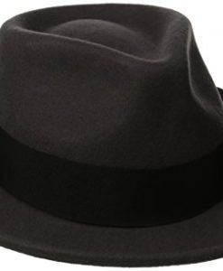 Scala Classico Men's Crushable Wool Felt Fedora