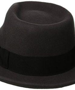 Scala Classico Men s Crushable Wool Felt Fedora 11966184ee4