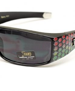 Lc50 Locs Rasta Gangster Weed Sunglasses Lion Style