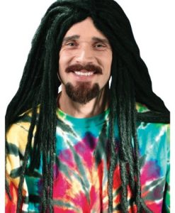 Long Dreadlocks Hippie Wig