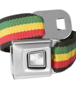 Rasta Classic Seatbelt Buckle Fashion Belt