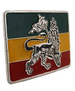 Letter Love Fashion Rastafarian Lion Judah Flag Belt Buckle Reggae Ganja African Fashion Metal New