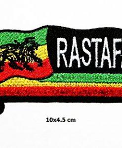 The Lion of Judah Rasta Rastafari Jamaica Reggae Logo Vest Jacket Hat Hoodie Backpack Patch Iron On