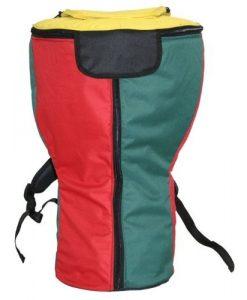 X8 Drums & Percussion X8-RASTA-BAG-XXL Rasta Heavy Padded Djembe Backpack Bag, XXL