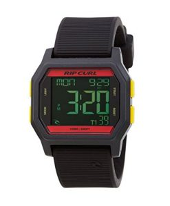 Rip Curl Unisex Atom Digital Watch Rasta