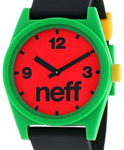 Neff Men's Daily Watch Rasta