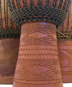 """Professional Djembe Drum From Mali - 14""""x25"""" Over Size - Africa Heartwood Project"""