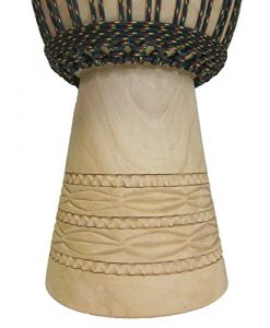 """Handcarved Pro Djembe Drum From Mali - 13""""x24"""" (Melina Wood)"""