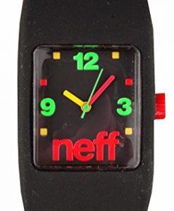 Neff Special Rasta Bandit L/XL Silicone Watch