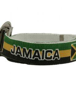 Rasta Big Buckle Belt-Jamaica W03S62A