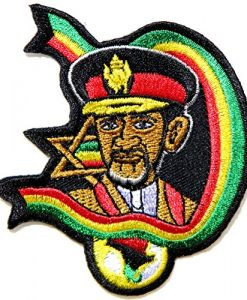 JAH Army Military The Lion of Judah Rasta Rastasafari Jamaica Reggae Logo Jacket T shirt Patch Sew Iron on Embroidered Badge Sign Costume
