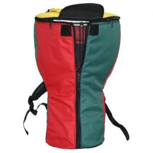 X8 Drums & Percussion X8-RASTA-BAG-XXL Rasta Heavy Padded Djembe Backpack Bag, XXL