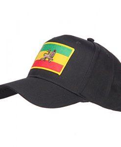 Rasta Flag Patched Cap - Ethiopia