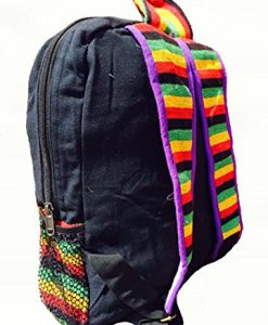 New Cotton Shoulder Backpack Hippie Hobo Handmade Made in Nepal Bag Rasta Razor