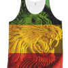 Rasta Singlet Lion of Judah Tank