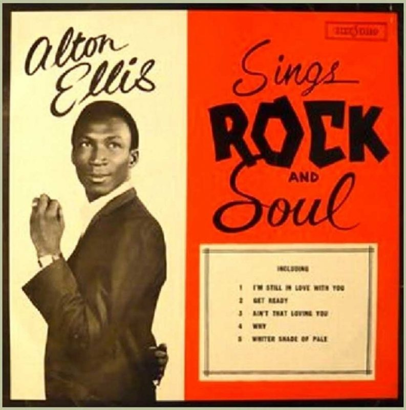 Alton Ellis Rock Steady Rasta Seed Reggae