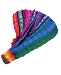 Inspirit Arts Jeweltone Headband Expandable Bandana Headwrap Cotton Hair Scarf