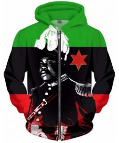 Marcus Garvey Black Nationalist Hoodie rastaseed.com