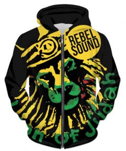 rebel sound hoodie rastaseed.com reggae rasta merchandise and clothing