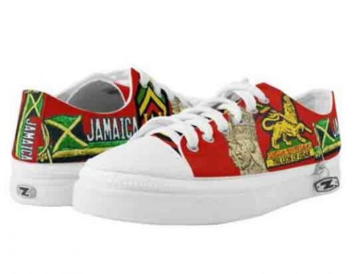 Reggae Steppers rasta shoes low top sneakers in the rasta colors at rastagearshop and rastaseed.com