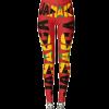 Jamaican Flag Red Leggings Rastaseed Rastafarian Reggae Merchandise Clothing and Shoes