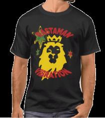 Rastaman Vibration Lion of Judah T-shirt Rastaseed.com