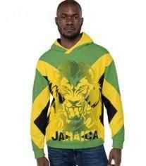 Jamaican Hoodie Lion of Judah at Rastaseed.com Jamaican clothing and gear.