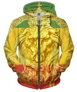 Rasta Lion of Judah Hoodie Rastaseed.com