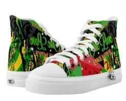 Rasta Hi-tops Reggae Party merchandise at rastaseed.com