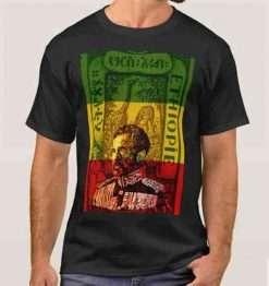 Haile Selassie King t-shirt at rastaseed.com
